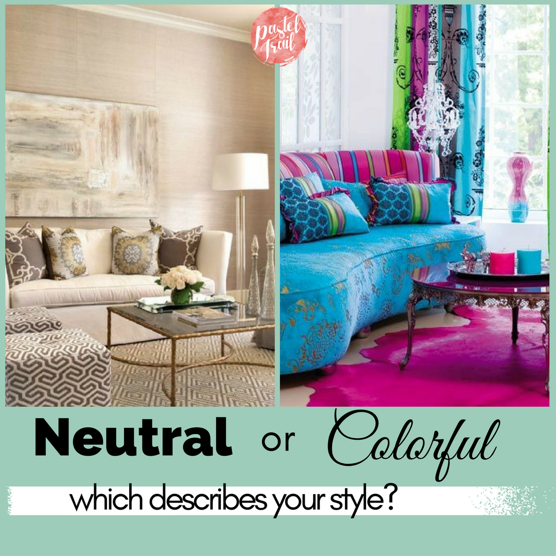 Neutral or colorful - which describes your style?
