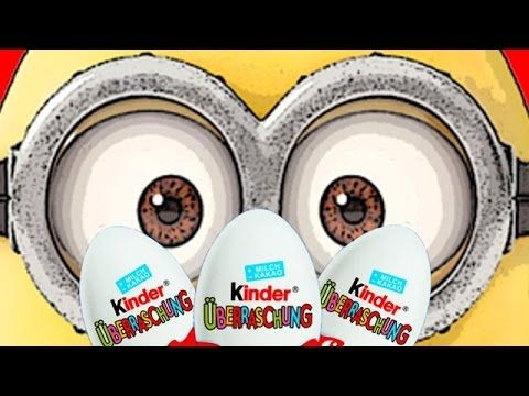 Kinder Surprise Eggs Opening - Awesome Toys - Eggs and Toys TV