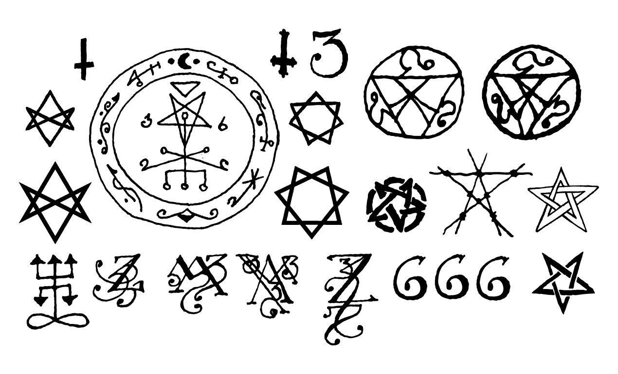 Pin by tritch on symbols scripts typography codes fonts witchcraft symbols occult symbols scripts fonts typography letterpresses types of font styles script fonts script buycottarizona