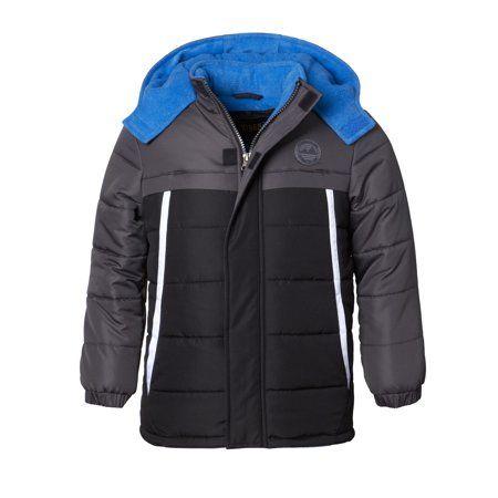 c325bdd36 Hooded Tonal Colorblock Puffer Jacket Coat (Baby Boys   Toddler Boys ...