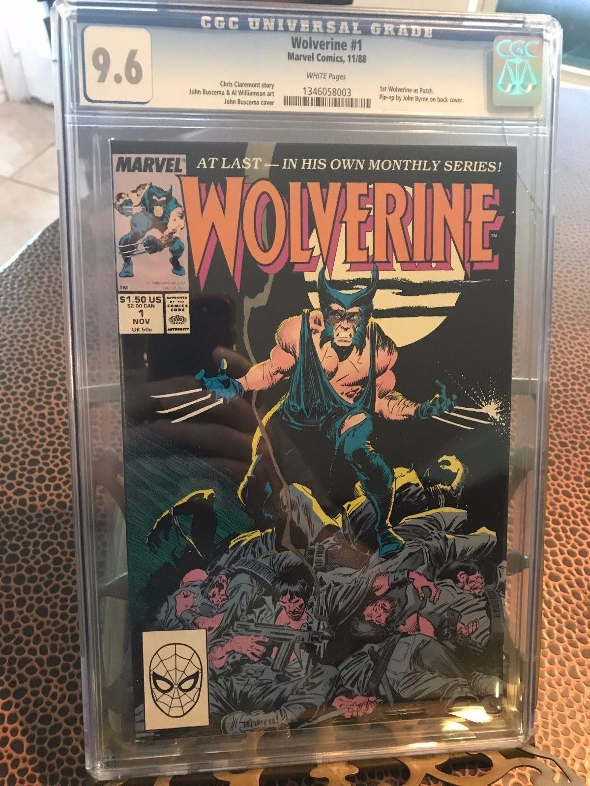 a58d35488ab certified #graded #cgc #cpgx #art #DC #Marvel #comic Wolverine #1 ...