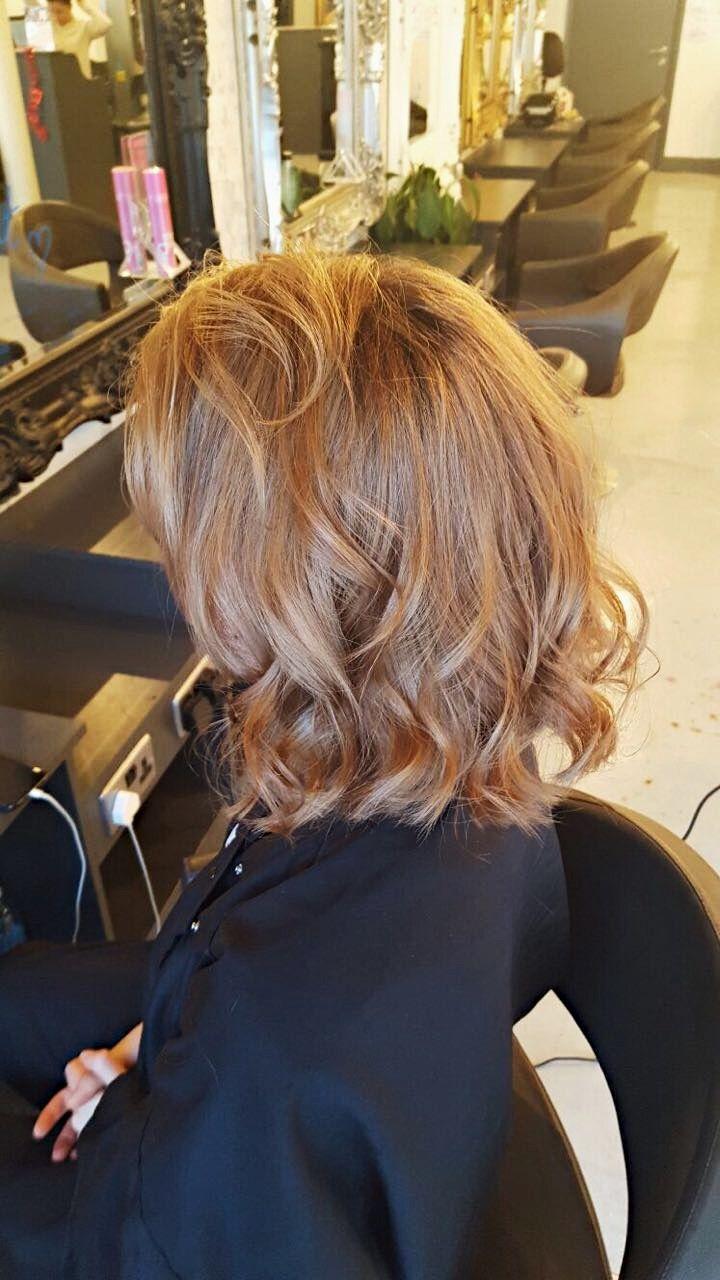 Go From Bleach Blonde To A Natural Warm Blonde Hair Colour London