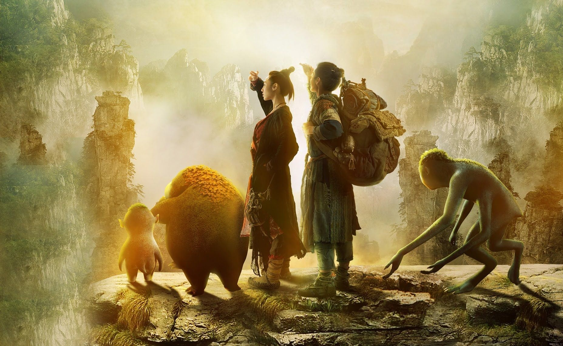 Monster Hunt 2015 Chinese Movie With English Subtitle Monster Hunt Monster Hunter Monster
