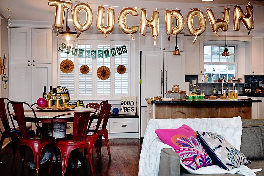 How to Throw an (easy) Awesome Tailgate Party Home decor