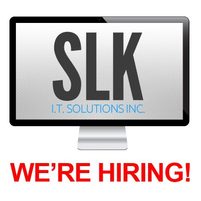 SLK is hiring! We are looking for an experienced programmer - skills to include on your resume