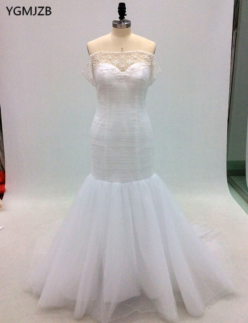 Find more wedding dresses information about luxury white wedding