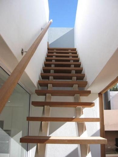 Stairs to roof terrace my future house pinterest for Terrace stairs