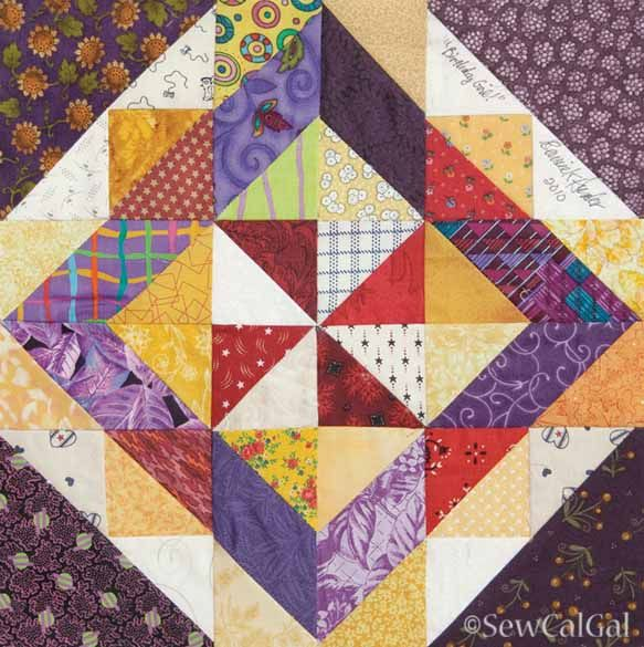 mary jane quilt blocks | 200 Blocks from Quiltmaker Magazine