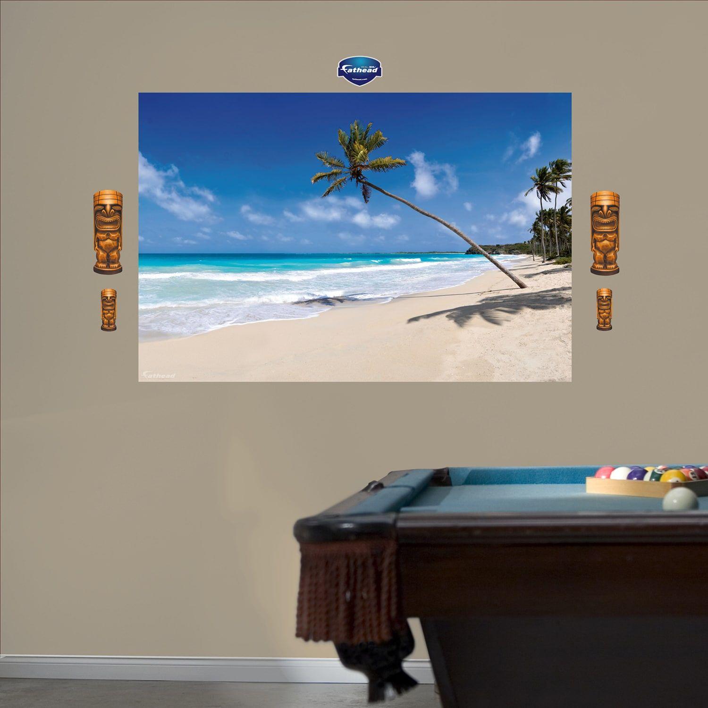 Fathead Tropical Beach Wall Decals Design Inspiration Art