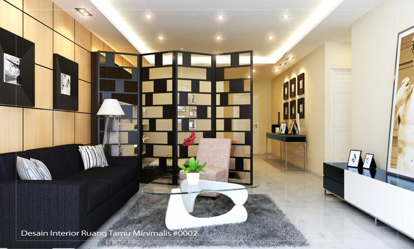 Interior Ruang Tamu Minimalis  Home Design Interior