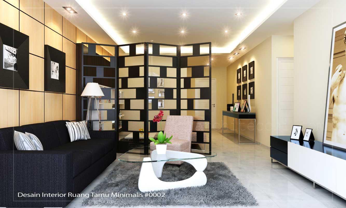 Interior Ruang Tamu Minimalis  Home Design