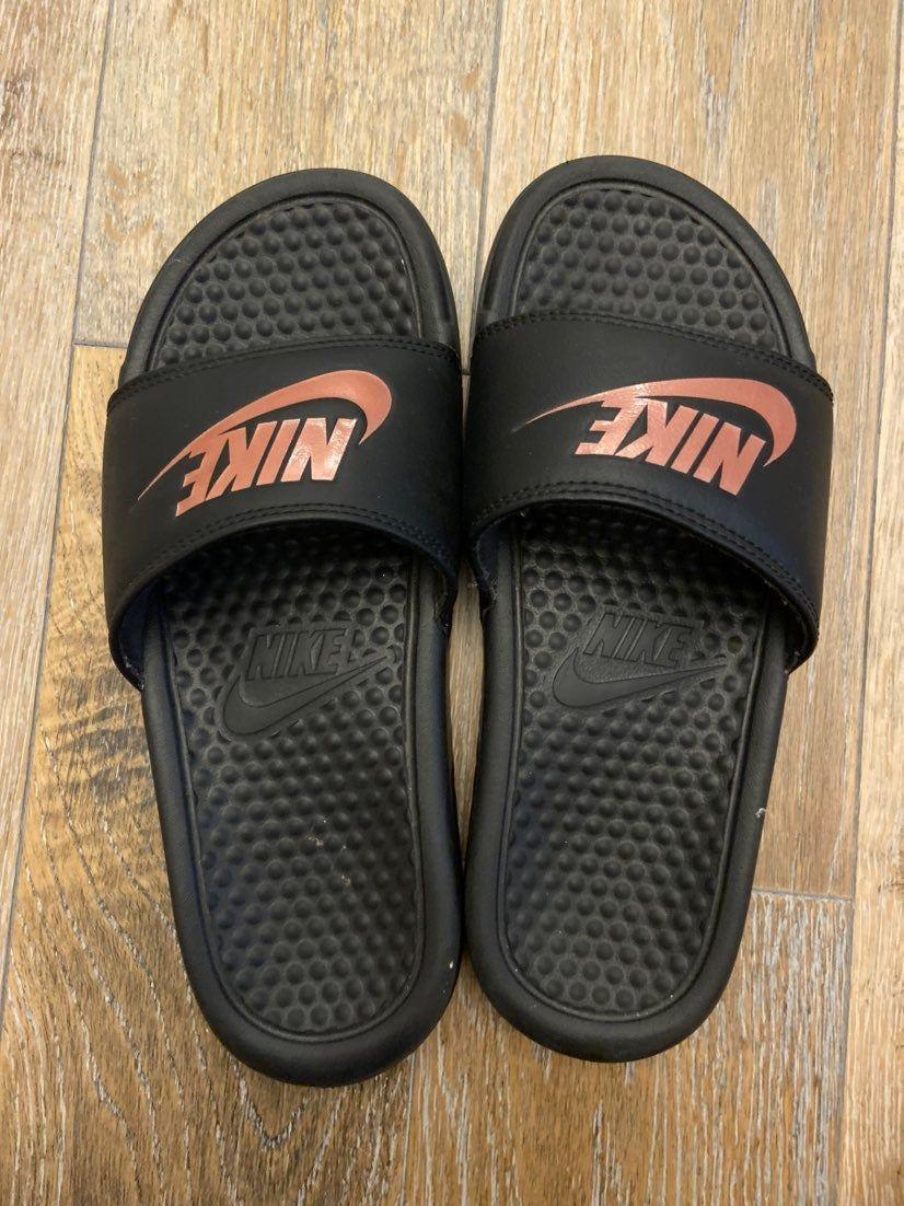 nike slides men size 9
