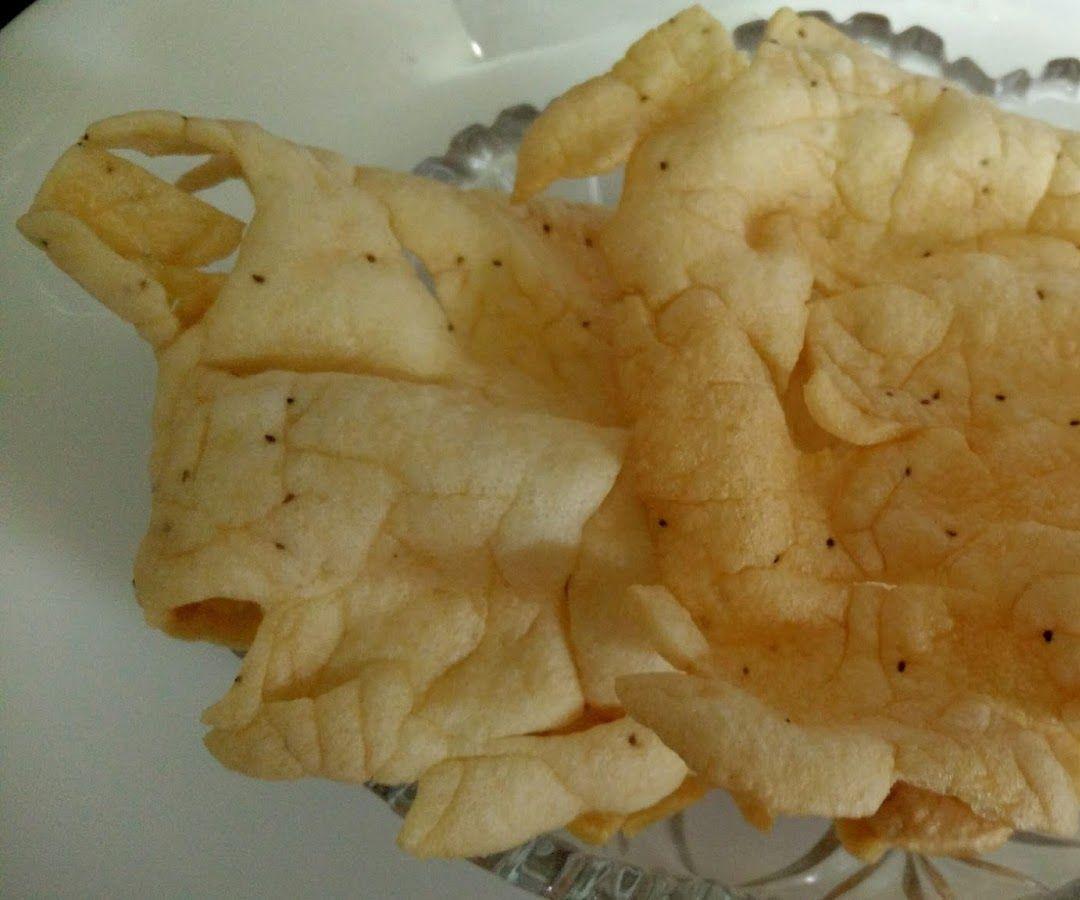 Homemade Rice Papad Recipe   Indian Recipes   Snack recipes