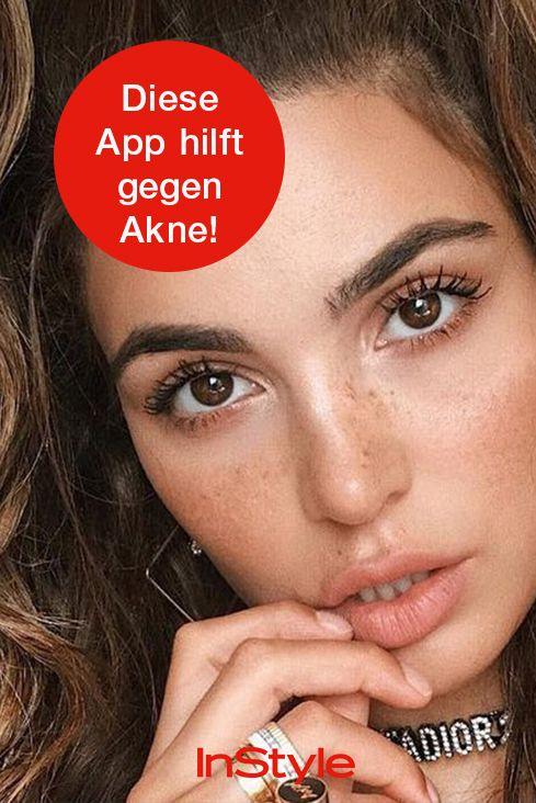 Adios Akne Es Gibt Eine App Gegen Unreine Haut Gesichtspflege
