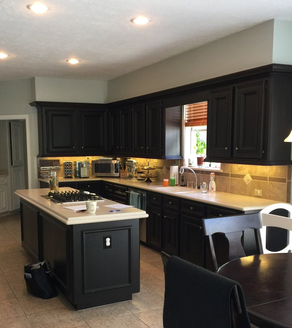 Take Your Kitchen Cabinets To The Ceiling Designed Kitchen Remodel Kitchen Cabinets Cabinets To Ceiling