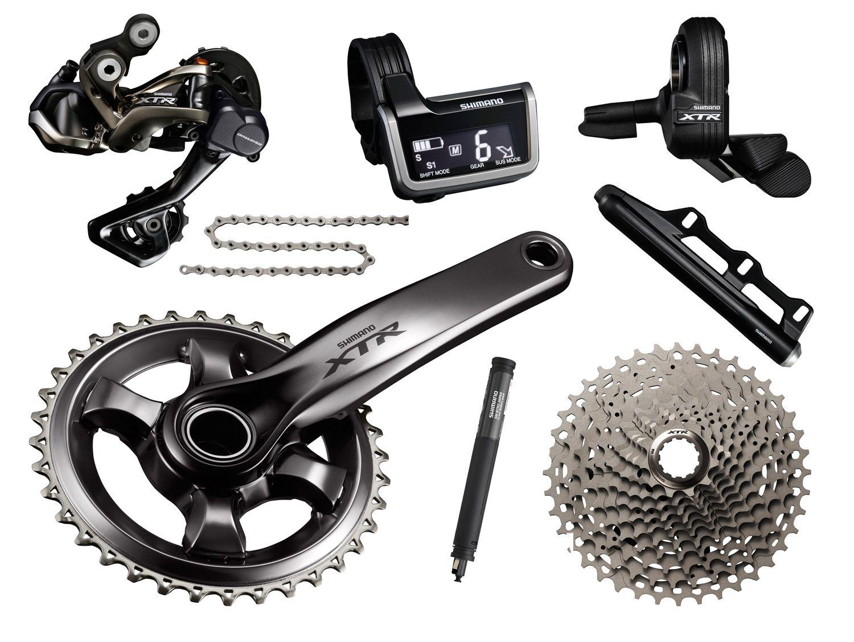 Shimano Xtr Di2 Race 1x11 Groupset Shimano Racing Bicycle Components