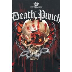 Photo of Five Finger Death Punch Assassin Damen-T-Shirt – schwarz rot – Offizielles Merchandise