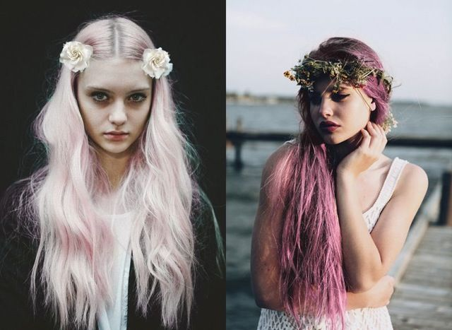 spring hair color trends fairy