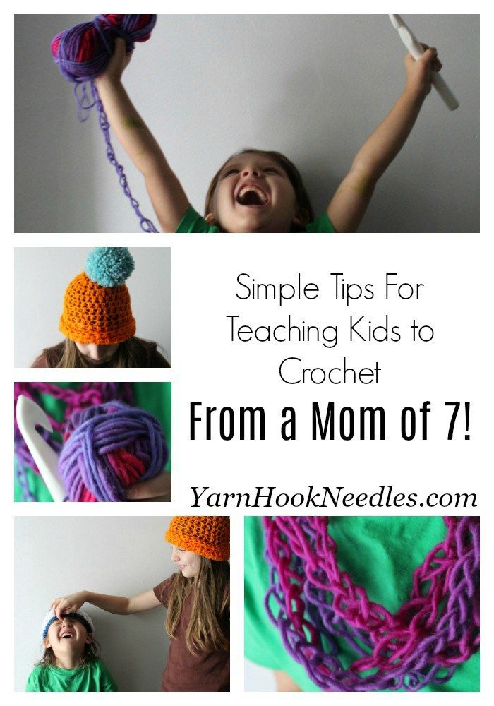 Learn How You Can Teach Kids To Crochet With These Simple Tips!