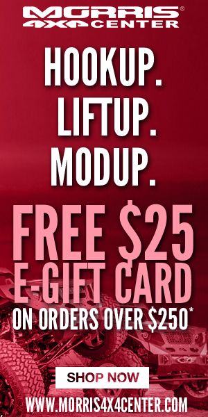 HookUp. LiftUp. ModUp. FREE 25 EGift Card on orders over