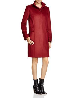 BOSS Carila Wool Cashmere Coat | Bloomingdale's