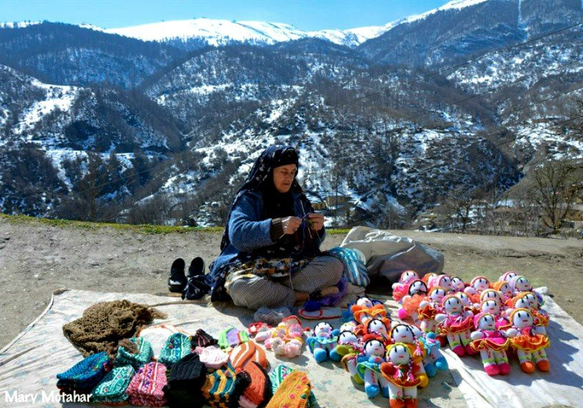 very speciaal. this woman in Iran make them on the top of the mountain. Resepect!