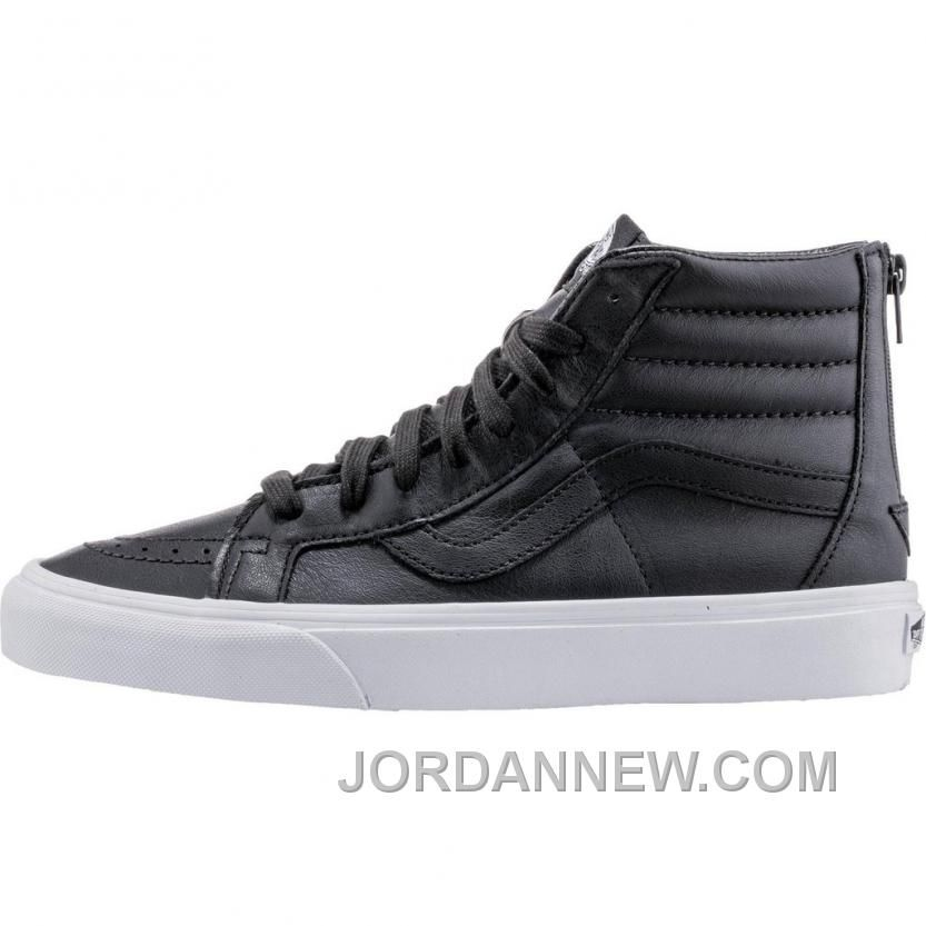 Vans Premium Leather SK8-Hi Reissue Zip (Mens) - Black/True White Cheap To  Buy, Price: $80.74 - Air Jordan Shoes, Michael Jordan Shoes
