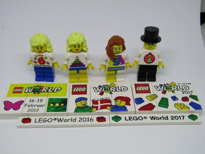 Lego World store openen Minifiguren vanaf 2014 2016 2017 LEGO World ...