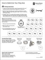 Ring Sizer from James Avery useful for any rings personal likes