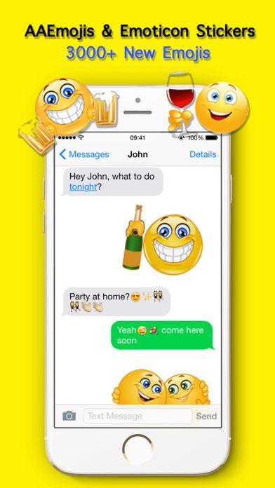 [iOS] AA Emojis Extra & Animated Emoji keyboard (2.99 to