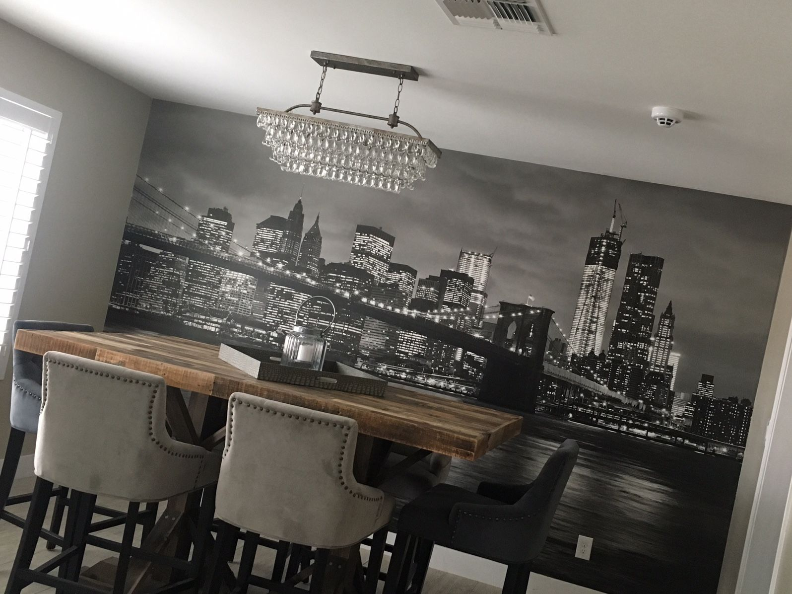 Our Customer Accented Her Dining Room With This Gorgeous Black And