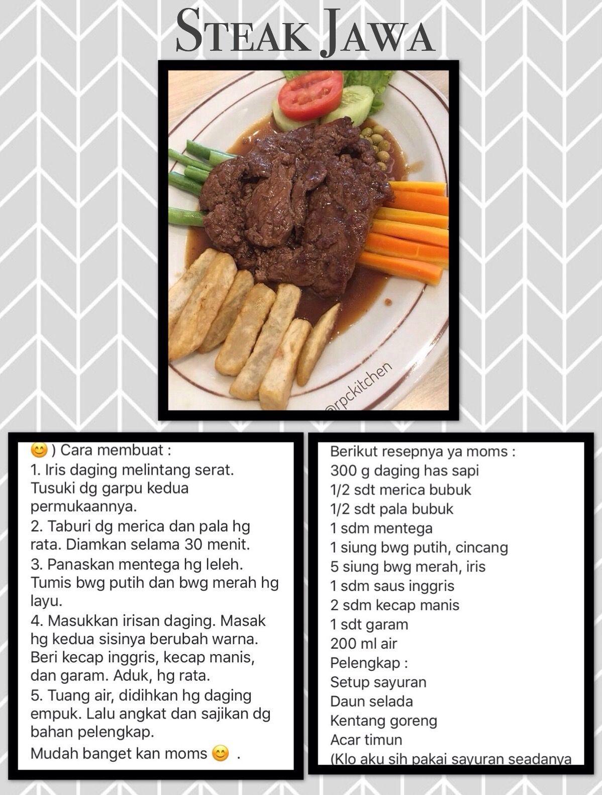 Pin Oleh Hanny Moniaga Di My Recipe Resep Masakan Resep Masakan Indonesia Resep