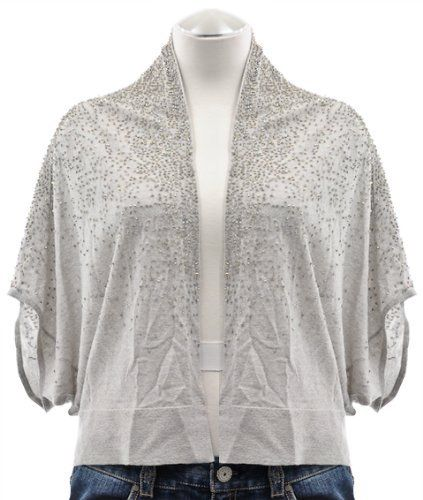 Eileen Fisher Pearl Oval Beaded Merino Wool Cardigan Sweater X-Small Eileen Fisher. $159.99