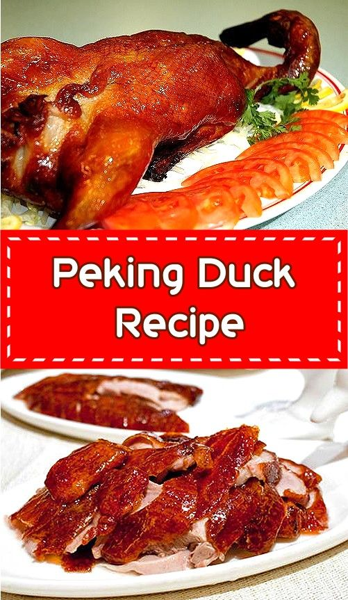 Peking Duck Recipe Yummly Roasted Duck Recipes Peking Duck Recipe Peking Duck