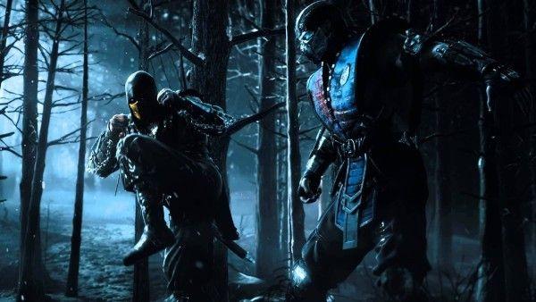 Scorpion Vs Sub Zero Mortal Kombat X Mortal Kombat X Scorpion
