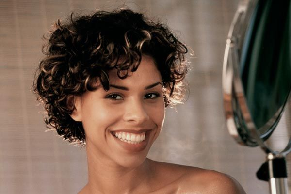 Amazing 1000 Images About Curly Hair On Pinterest Short Curly Hairstyles For Women Draintrainus
