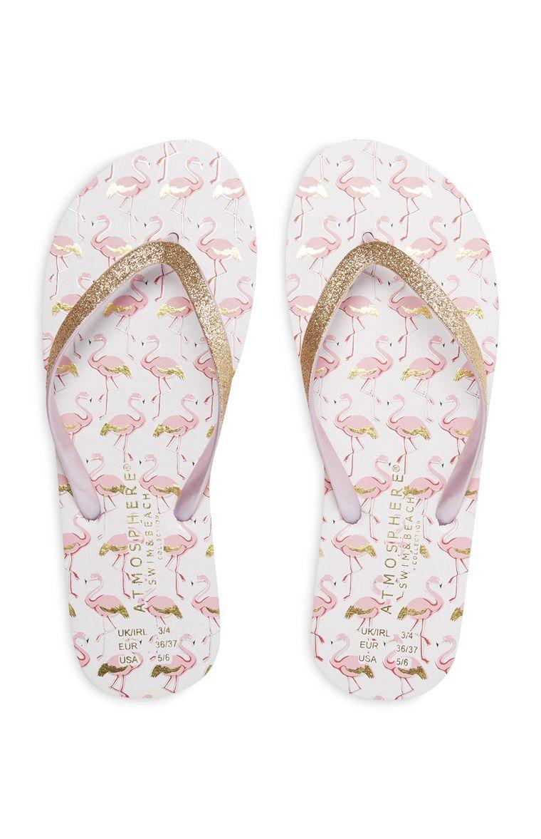 4a8758bf5c Primark - Chanclas rosa y dorado con purpurina Sapatos Sandálias, Sapatos  Lindos, Chinelos Havaianas