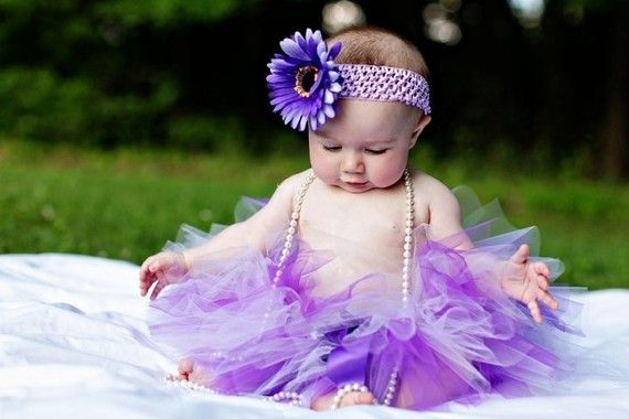 Easter Sugar Plum Sewn Tutu  Purple Lavender by tootsietutushop, $24.00