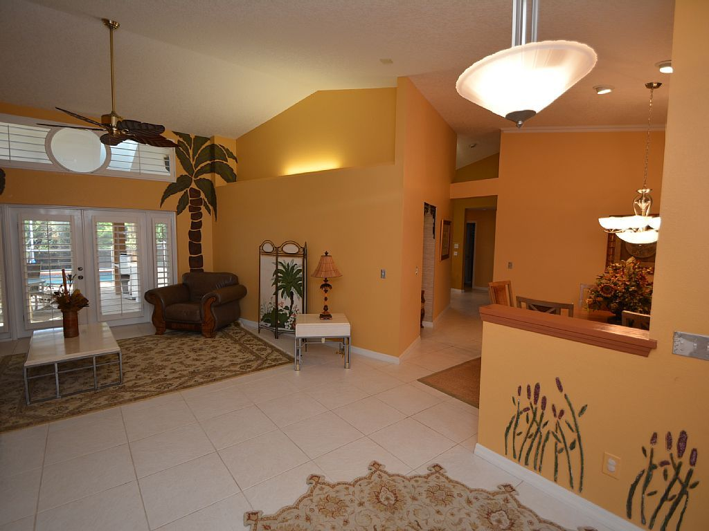 Beautiful canal front pool vacation home rentals palm coast fl
