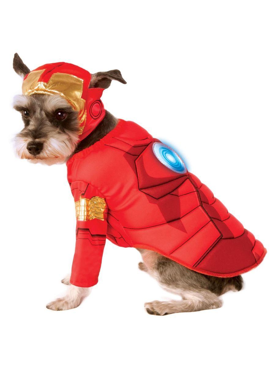 f633e1a0a Disfraz de Iron Man Vengadores para perro | Molde | Disfraces para ...
