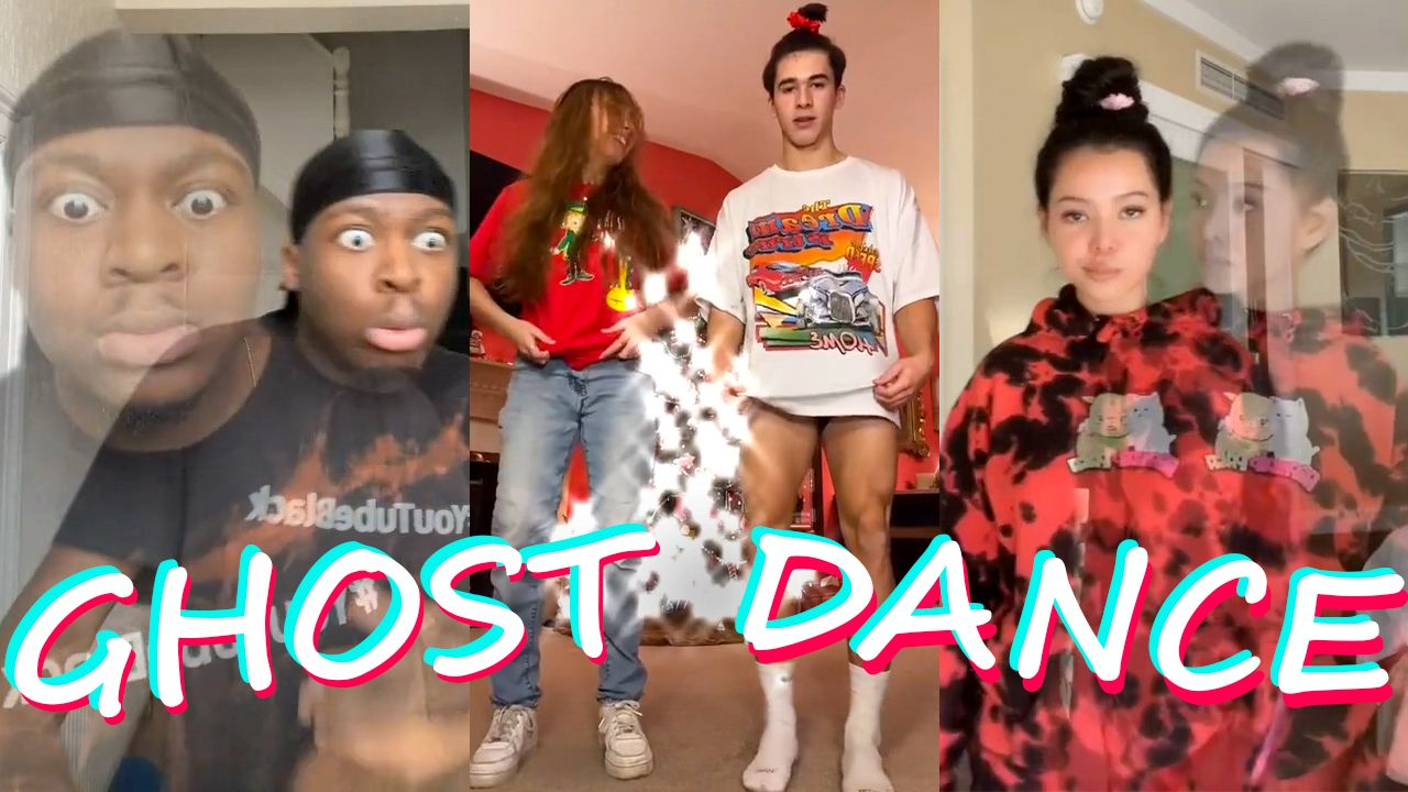 New Trend Ghost Dance Tiktok Compilation Trong 2021