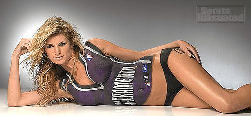 Illustrated paint body sports miller marisa