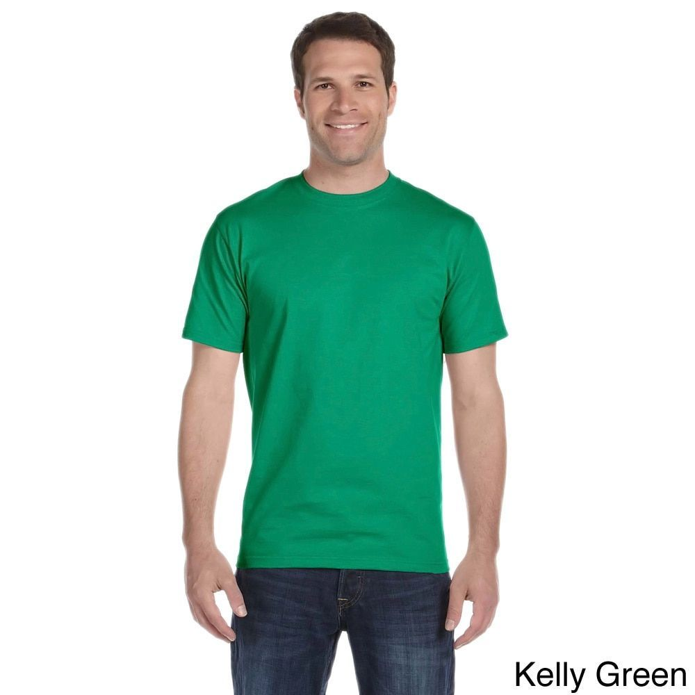 2f6bc6785a82 Gildan Men's DryBlend 50/50 T-shirt (M,Kelly Green), Size: Medium  (polyester)