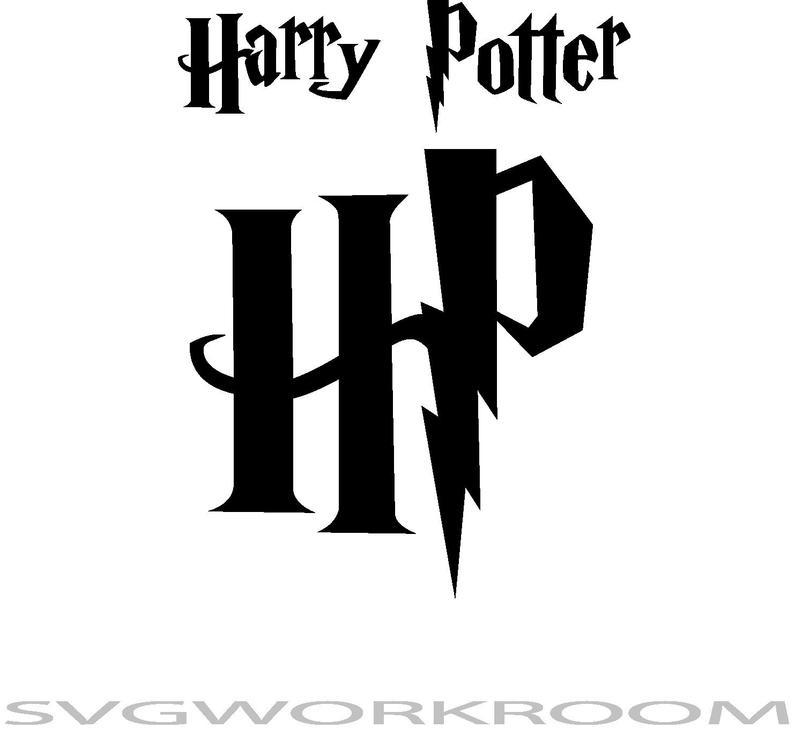 Harry Potter Logo Svg Bundle Harry Potter Initials Hp Logo Etsy Harry Potter Logo Hp Logo Harry Potter