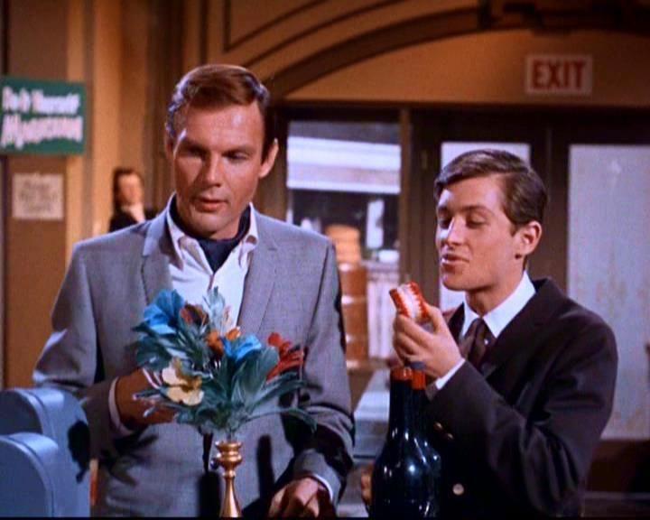 'Bruce Wayne' ('Adam West') and 'Dick Grayson' ('Burt Ward') on 'Batman' TV Series (1966–1968)
