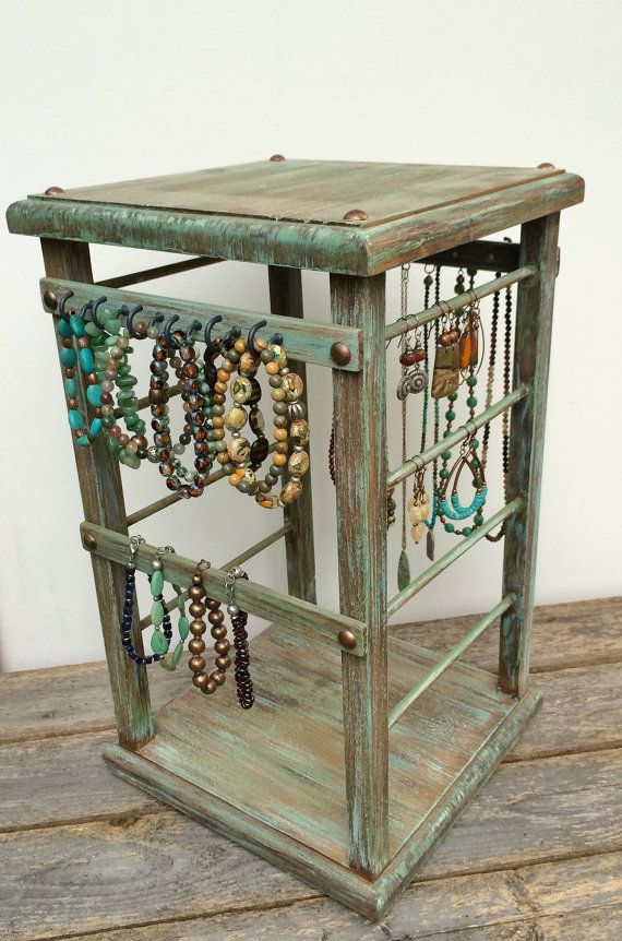 Rotating Display Jewelry Retail Stand Earring T