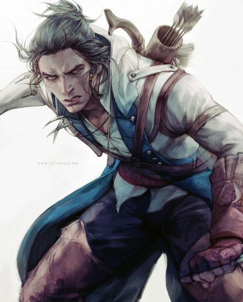 Assassin S Creed 3 Conner Fanart Assassin S Creed Assassins