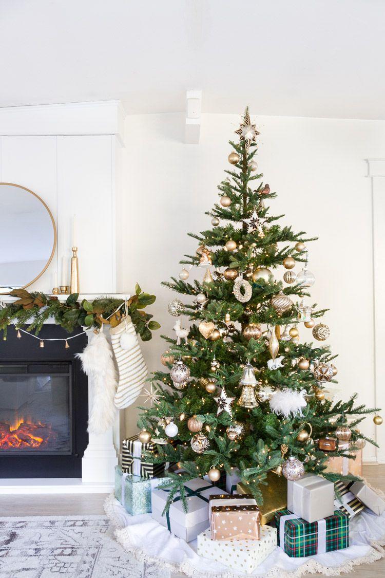 Our Christmas Tree and Family Room 30 | Christmas Cheer | Pinterest ...