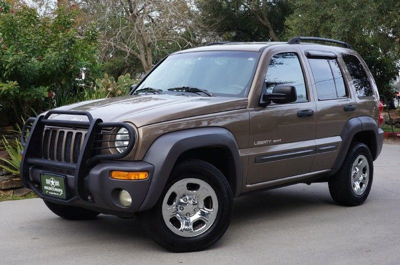 "2002 ""Woodland Brown"" Jeep Liberty Sport 4x4 V6 with 154k"