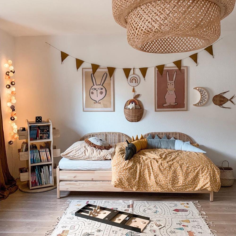 modern neutral kids rooms #amenagementmaisonchambre
